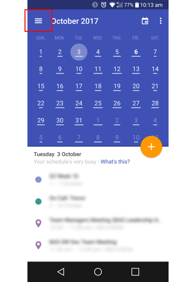 Android Calendar.Setting Up Mycalendar On Android Devices